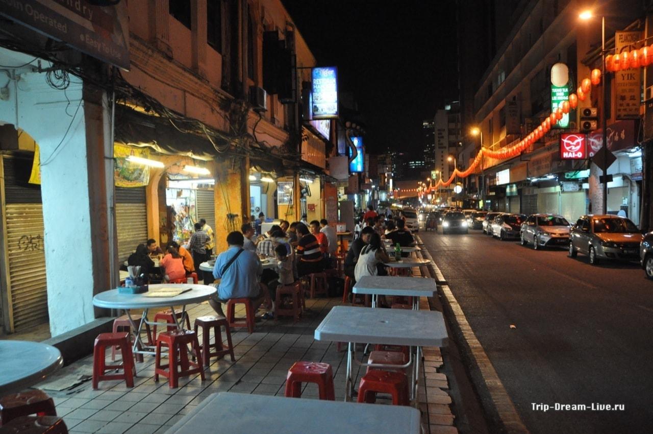 Уличный фастфуд в Чайнатауне