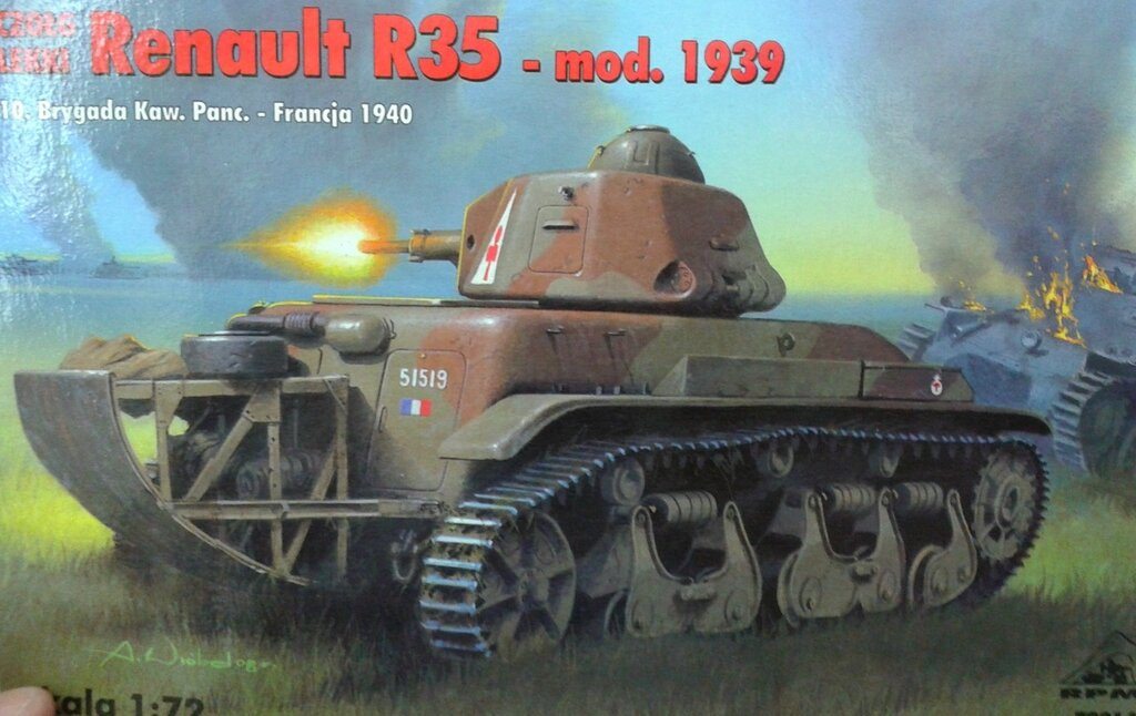 RPM 72218 Hotchkiss H38