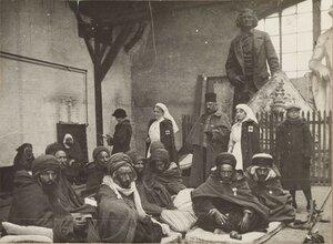 1914. Арабские части, дислоцированные в районе Лионского вокзала