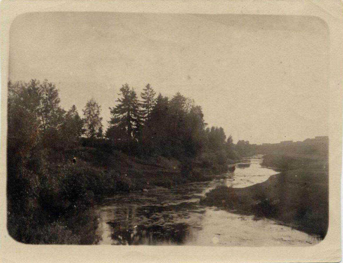 1899. Имение Логачево. Вид на реку Десну