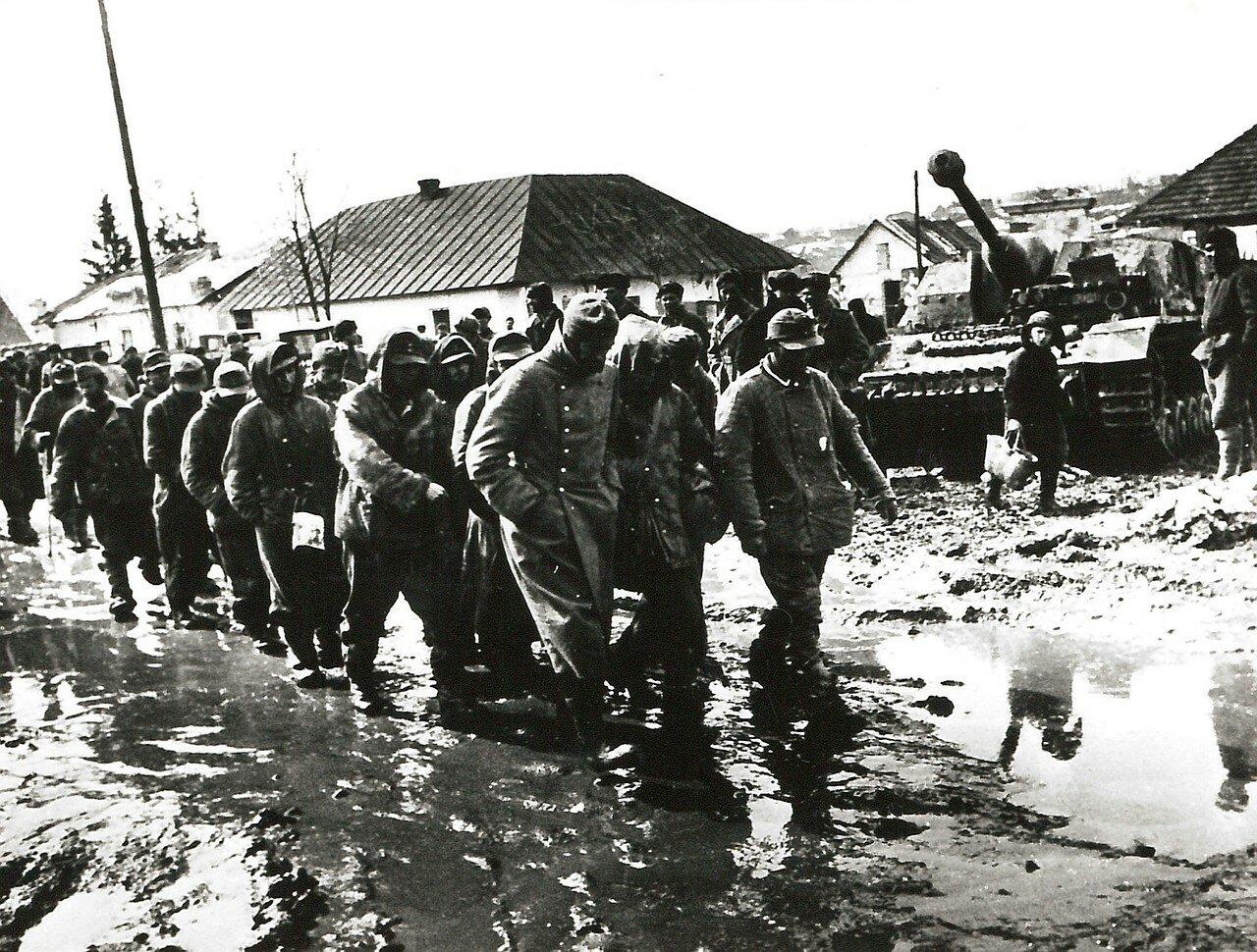 1942. Немецкие военнопленные