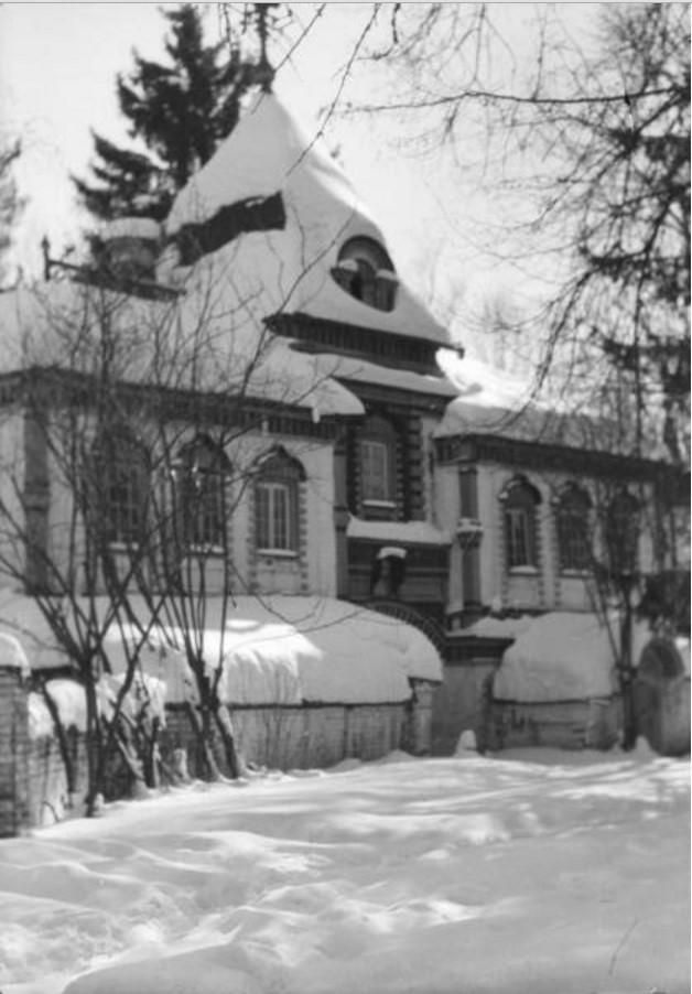 Лукино (Переделкино). Фасад усадьбы
