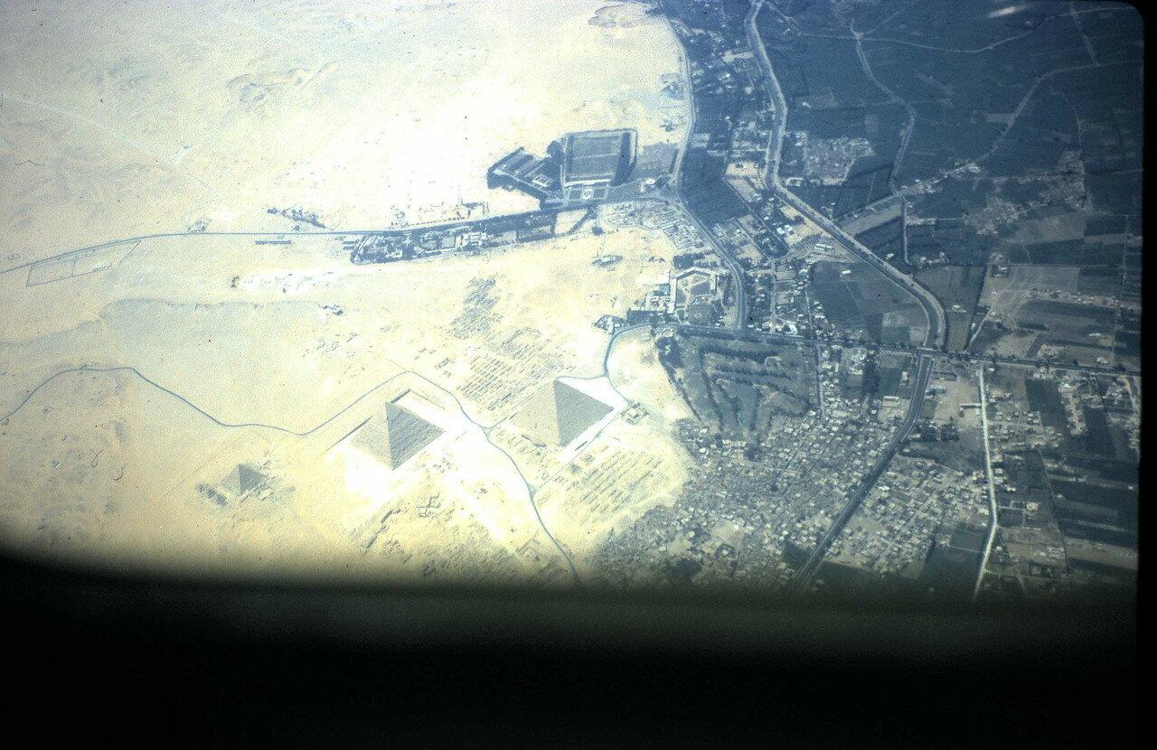 6 августа. Подлетая к Каиру (Египет)