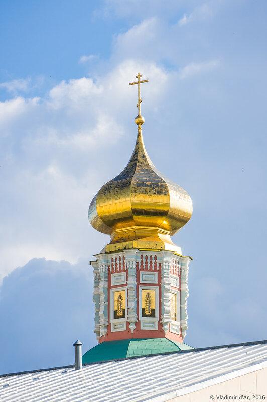 Главка Храма Богоявления Господня Богоявленского монастыря
