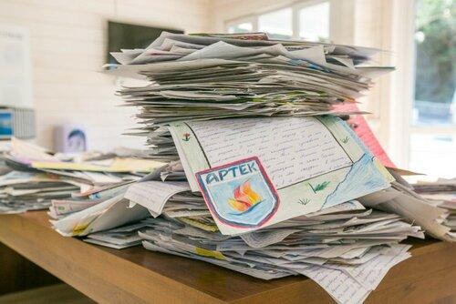 Почта Российской Федерации призывает южноуральских детей писать письма, чтобы попасть в«Артек»