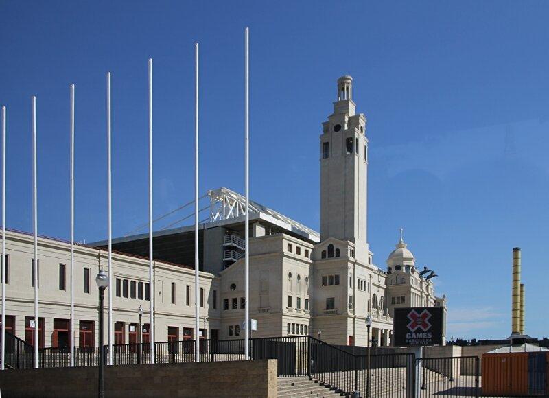 Олимпийский стадион Луиса Компаниса (Estadi Olímpic Lluís Companys), Барселона