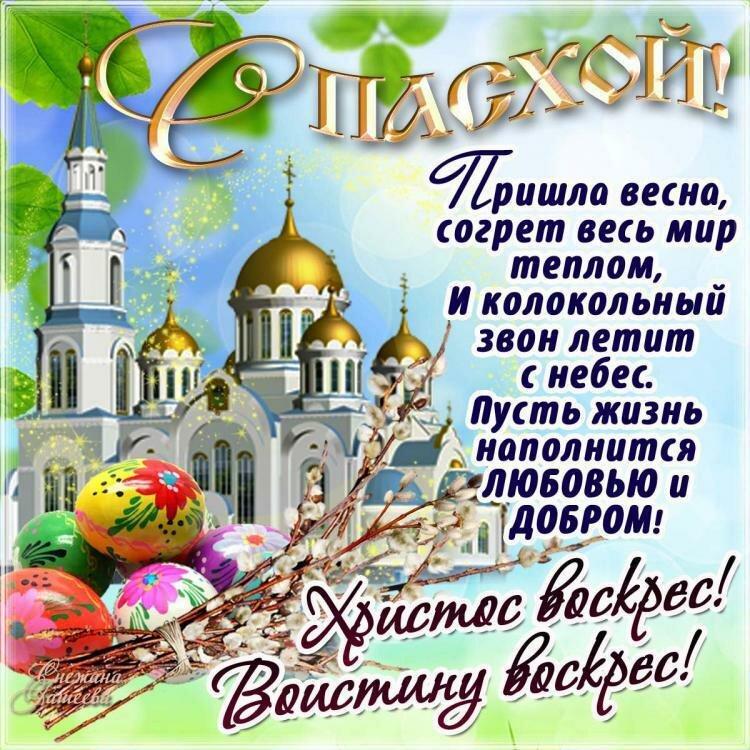 Поздравить с праздником пасхи открытки