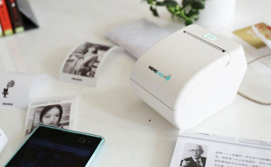 Memobird: крошечный принтер для печати с iPhone и Android (2 фото)