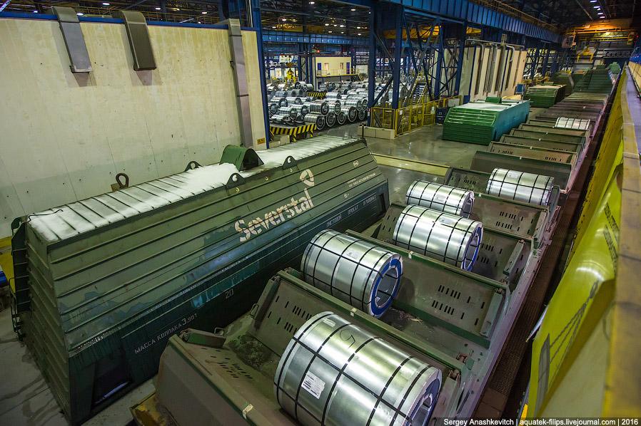 22. И все, металл поедет в разные концы России и не только, где из него произведут готовую прод