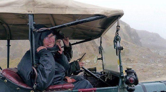 Пожилые супруги из Нидерландов отправились в путешествие