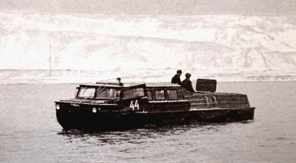 ЗИЛ-5901 (1970 г.) Весной 1970 года появилась самая крупная комбинированная поисковая машина ЗИЛ-590