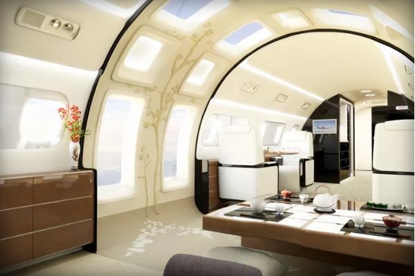 Компания, которая за 53 миллиона долларов сделает панорамную крышу в вашем частном самолете Если вы
