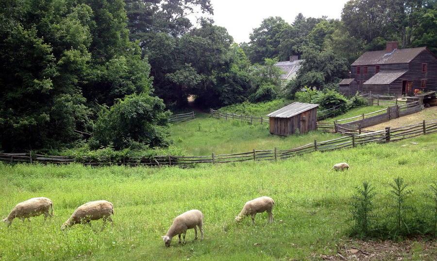 9. Старая ферма в местечке Стербридж, Массачуссетс, США.