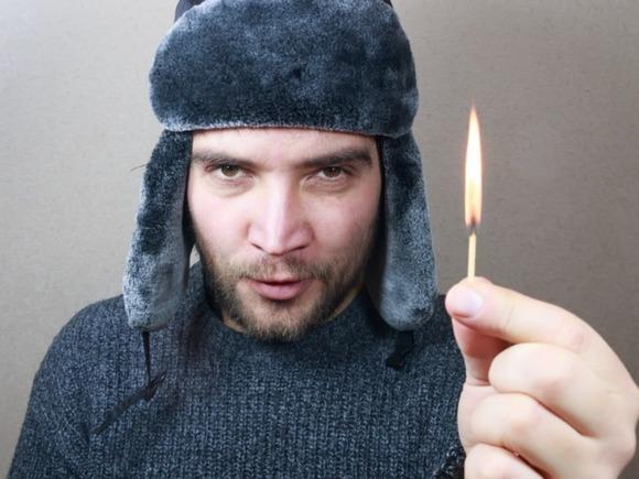 Беловчанин принял решение оценить работу пожарных. Может выйти до 5-ти лет вколонии