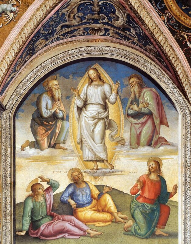 Transfiguration of Christ by Pietro Perugino