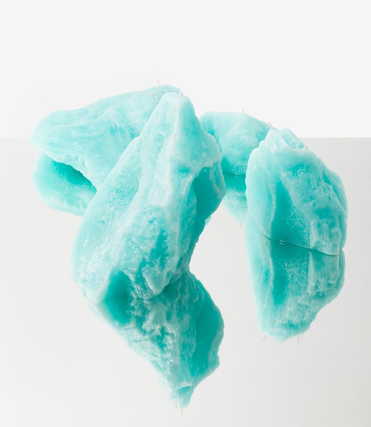 Glacier Candles - These iceberg candles will help you think about global warming
