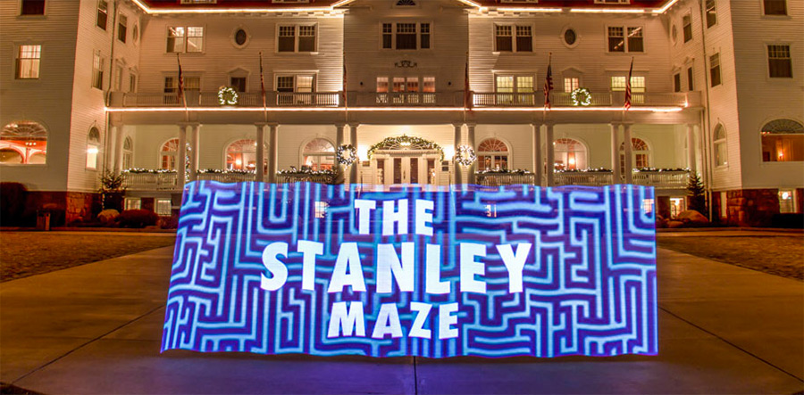 The Stanley Hotel in Estes Park, Colorado, is famous for hosting celebrities, politicians and other