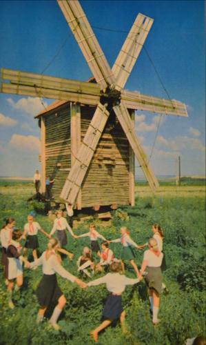 Ветряная мельница в Меняйлово