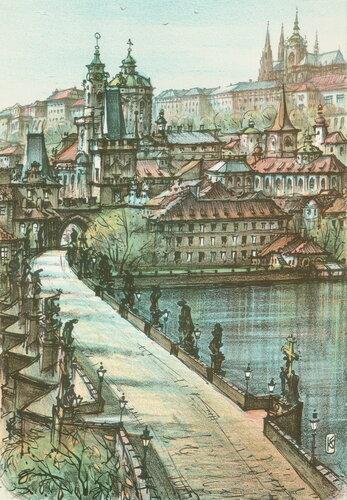 Карлов Мост и Пражский Град