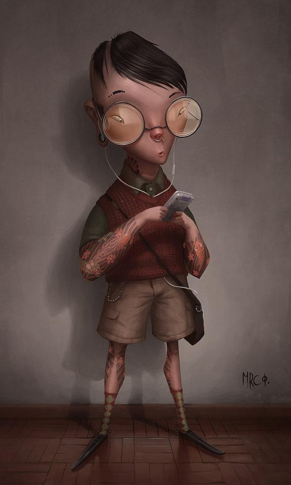 Digital Illustrations by Marco Furtado