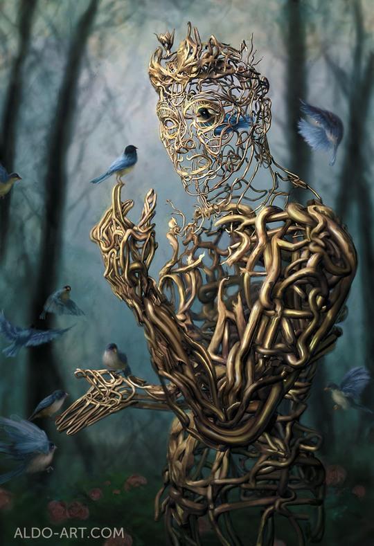 Inspiring Concept Art by Aldo Katayanagi