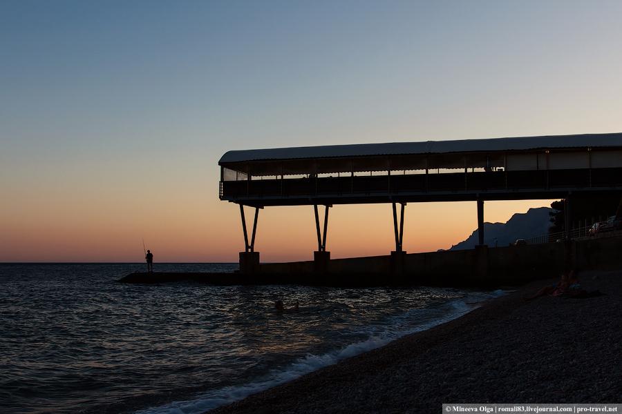 Закат в Крыму
