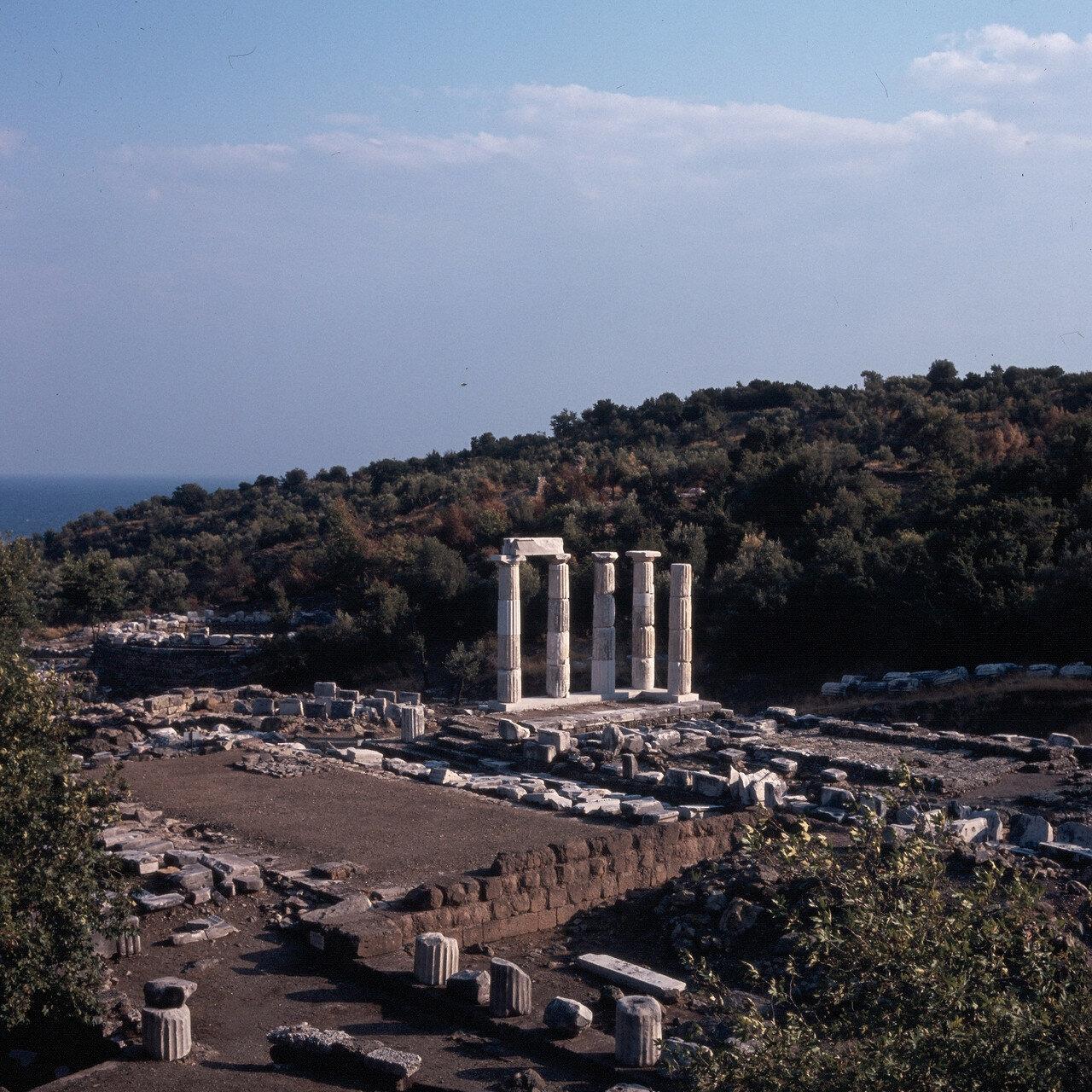Самофракия. «Святилище великих богов». Гиерон и  Арсинойон
