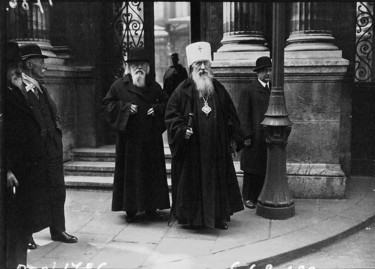 1932. Митрополит Евлогий, управляющий русскими православными приходами Московской Патриархии в Западной Европе