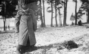 1915. Расстрелянный немец