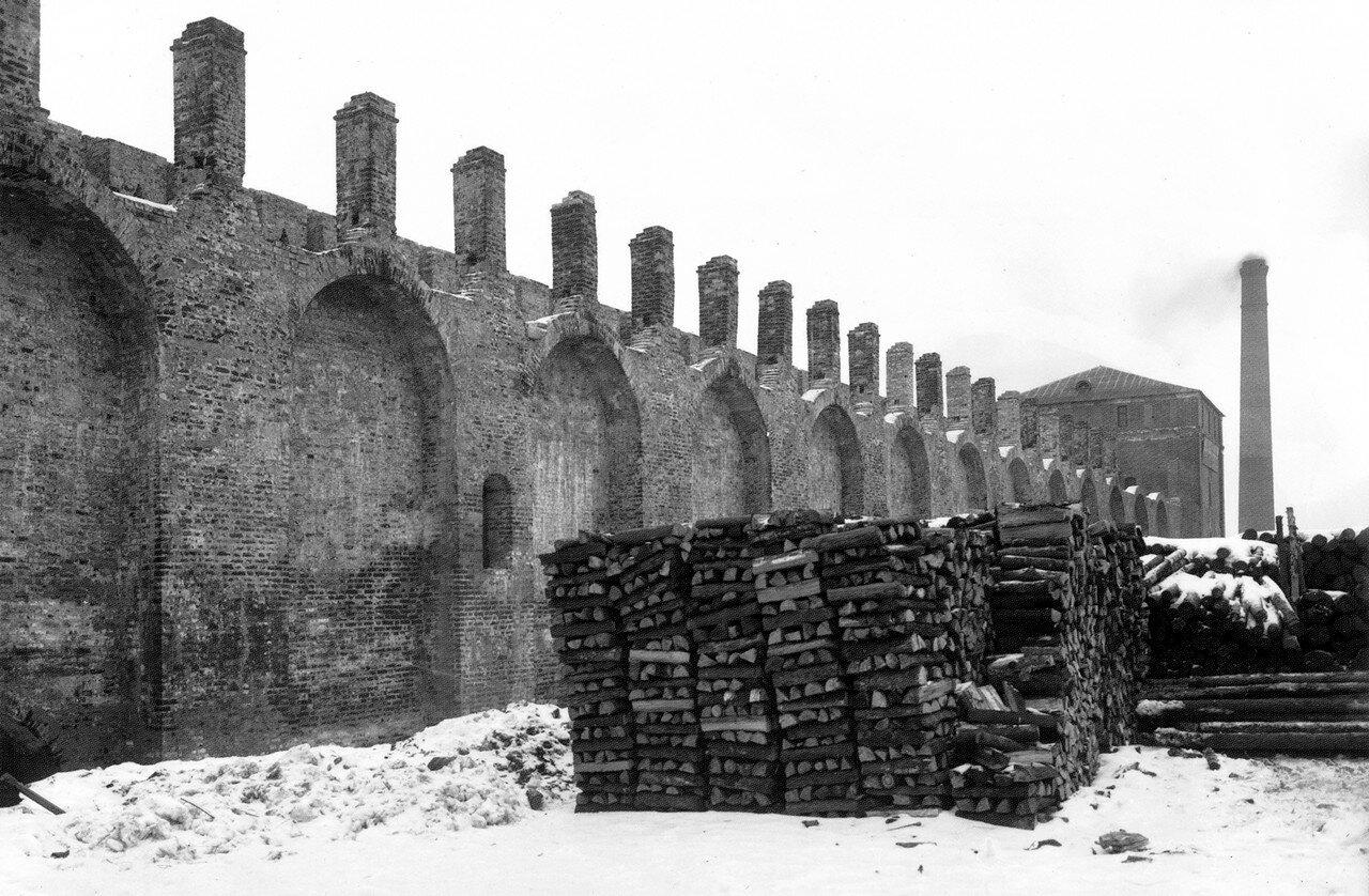 Крепостная стена около Волковой башни. 1903