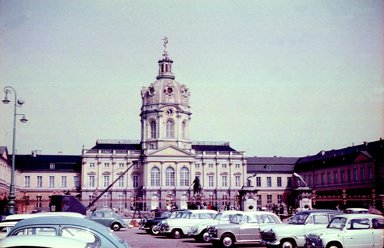 Берлин. Дворец Шарлоттенбург