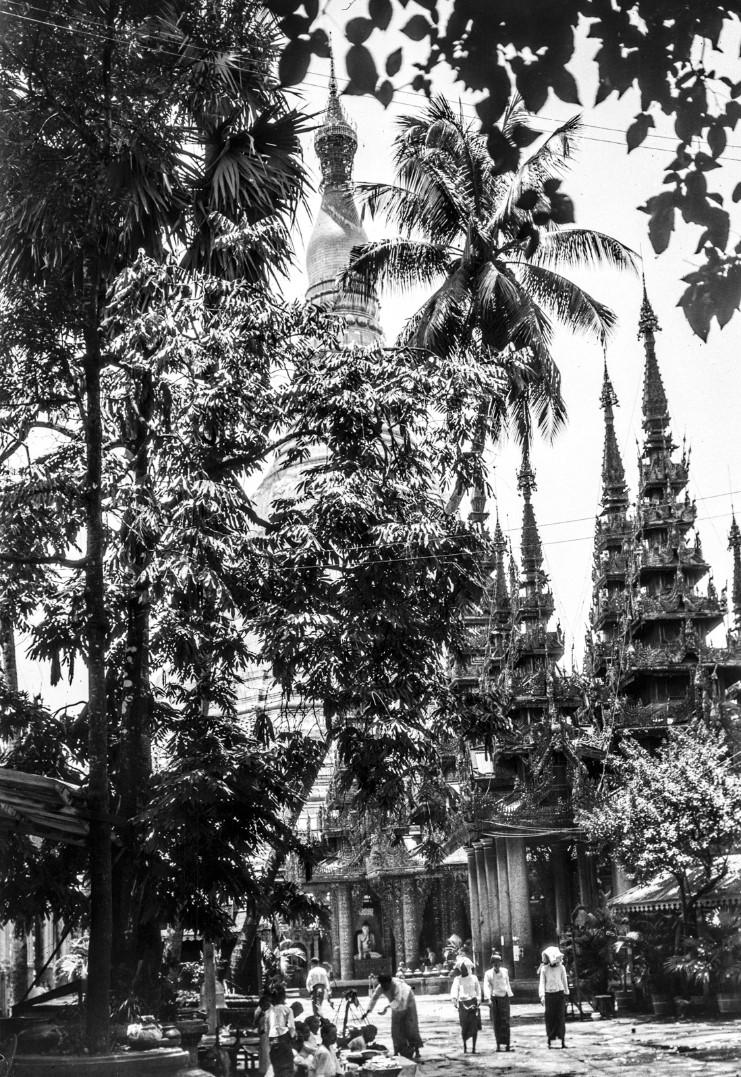 838. Рангун. Пагода Шведагон