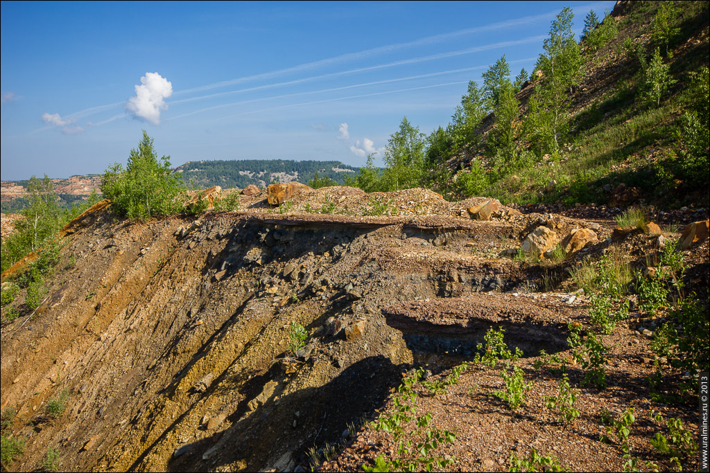 Александровский карьер Бакальского рудника