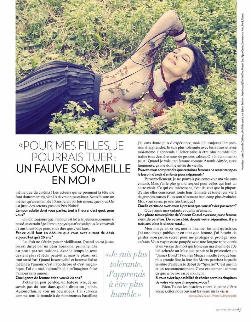 Monica Bellucci @ Paris Match 08 au 14 Septembre 2016 05.jpg