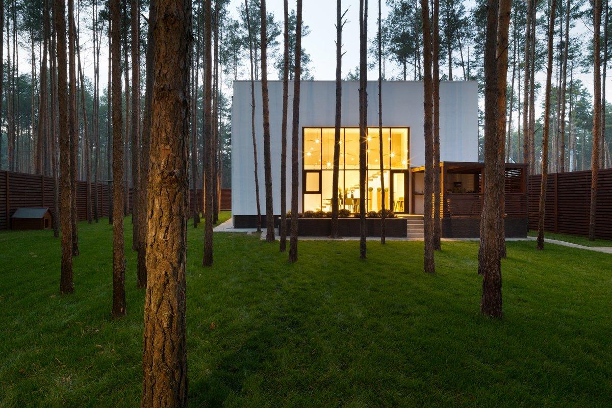 Частный дом в пригороде Киева