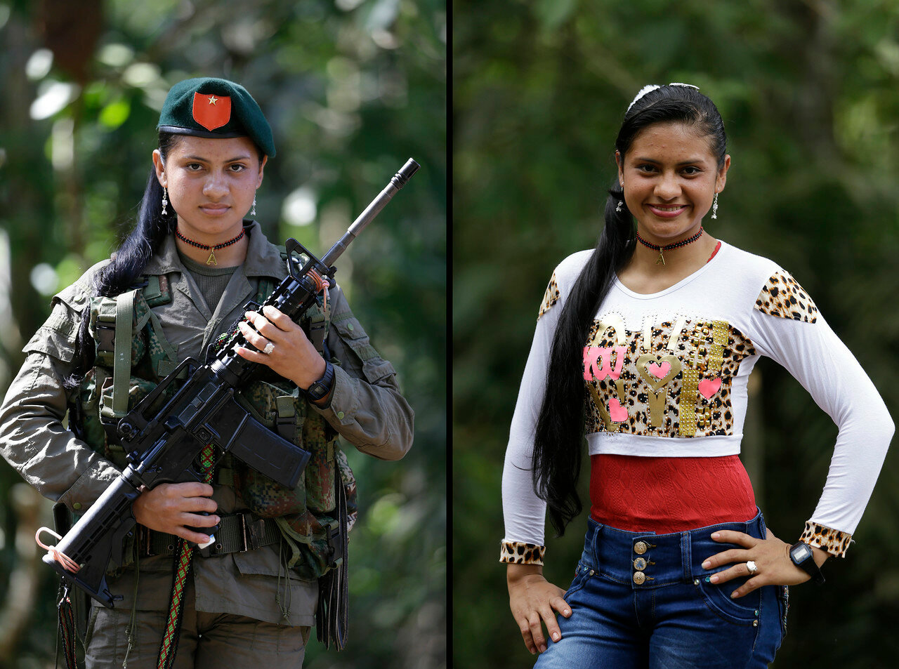 Colombia Rebel Portraits Photo Gallery