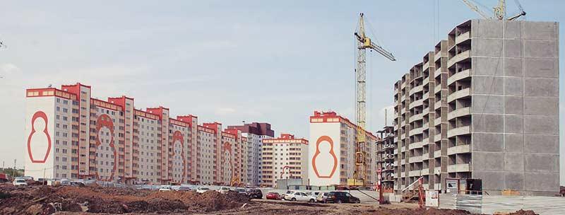 В Новосибирской области замедляется темп строительства жилых домов