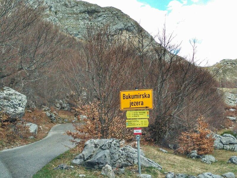 Круг около Корыт, Букумирское озеро и Соколинное Горло