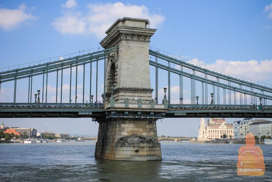 С моста открываются красивые виды