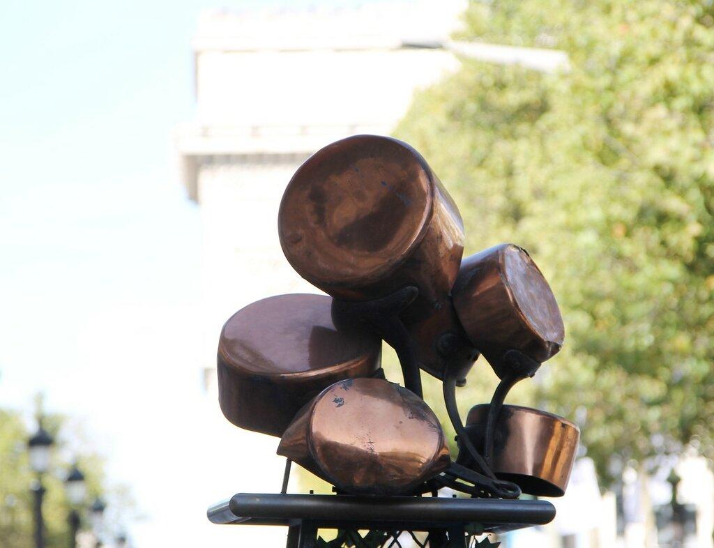 Париж. Елисейские поля (Avenue des Champs-Élysées)