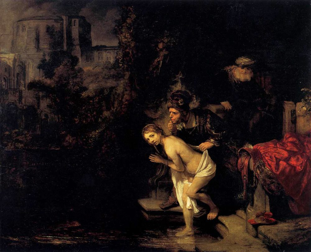 Рембрандт Харменс ван Рейн. Сусанна и старцы, 1647