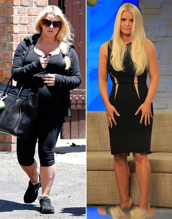 6. Джессика Симпсон Джессика столкнулась с проблемой избыточного веса во время беременности. Но смог