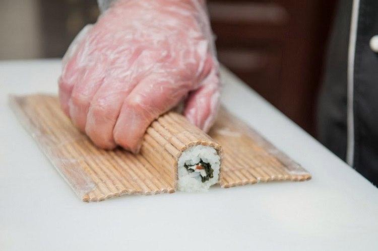 как готовить роллы фото