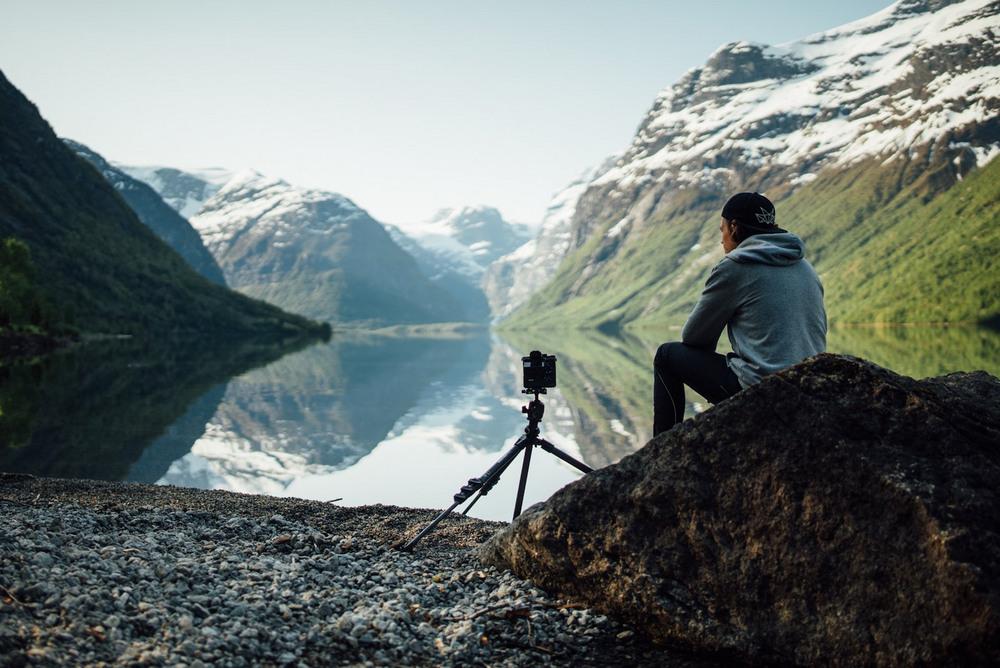 Времена года в Норвегии за 6 минут (5 фото)