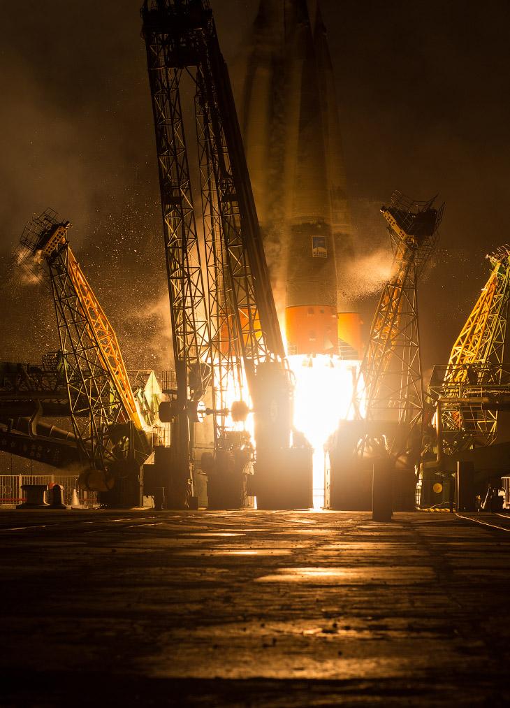 Старт космического корабля «Союз ТМА-20М» (14 фото)