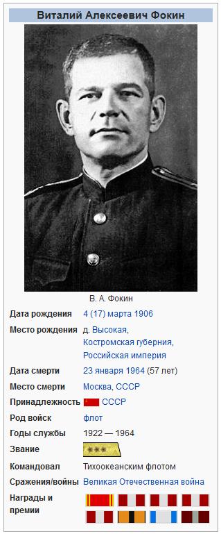 Виталий Алексеевич Фокин-Википедия
