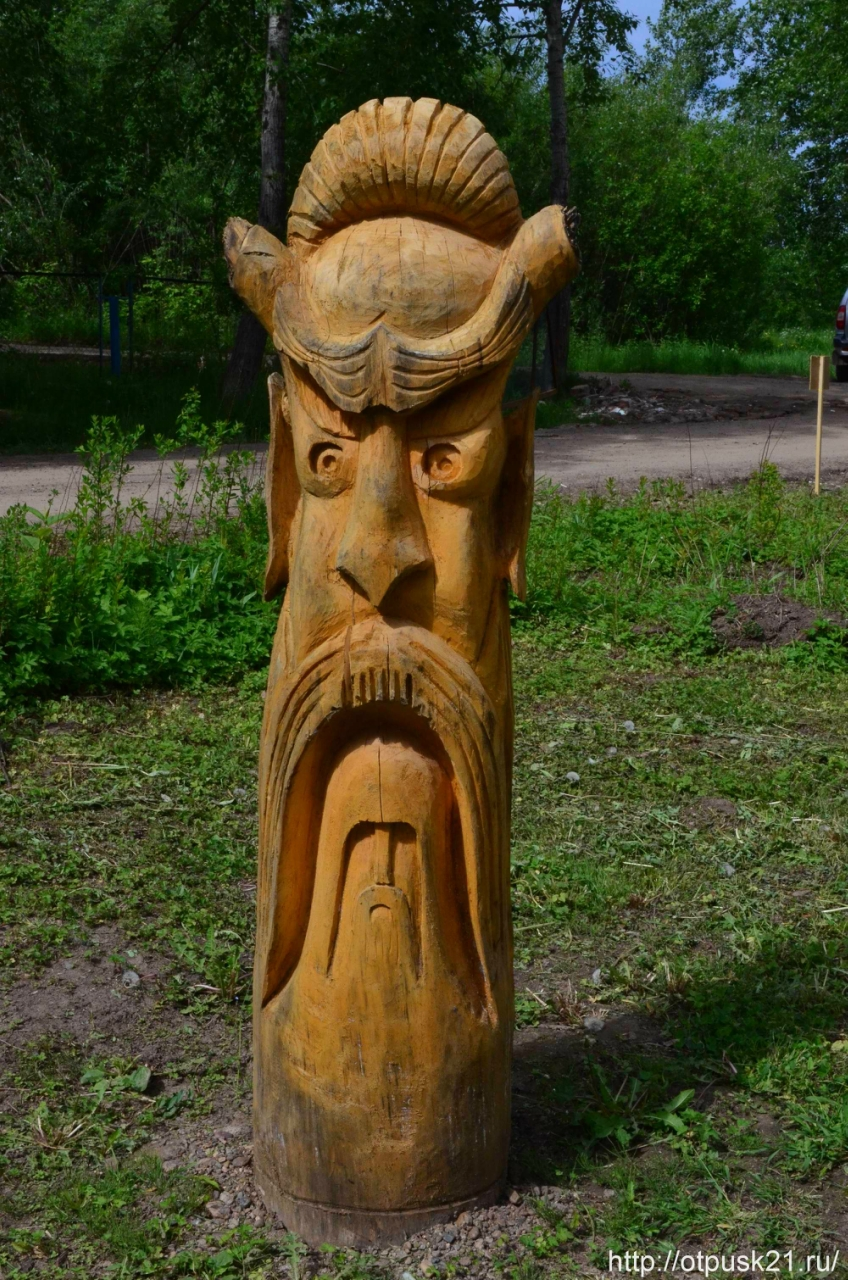 Парк деревянной скульптуры