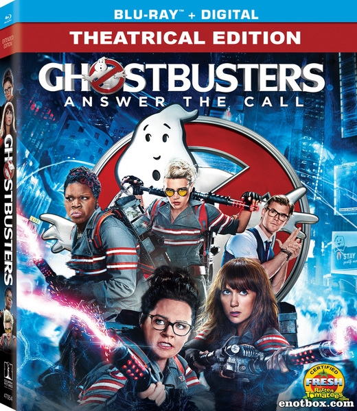 Охотники за привидениями / Ghostbusters (2016/BDRip/HDRip/3D)