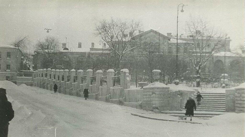 Морозовский сад 1960-70 гг