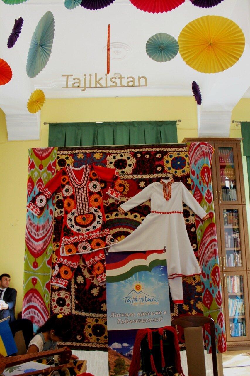 Стенд Таджикистана